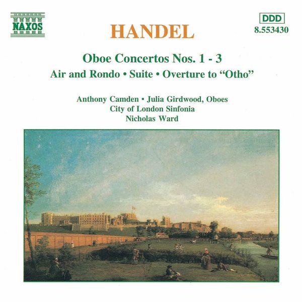 Anthony Camden - Oboe Concertos Nos. 1- 3 / Suite in G Minor
