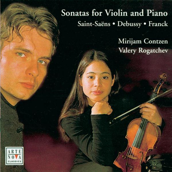 Mirijam Contzen - Debussy/Franck/Saint-Saens: Violin Sonatas