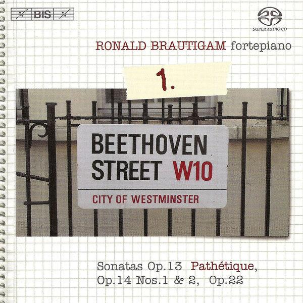 Ronald Brautigam - BEETHOVEN, L. van: Piano Works (Complete), Vol.  1 (Brautigam) - Sonatas Nos. 8-11