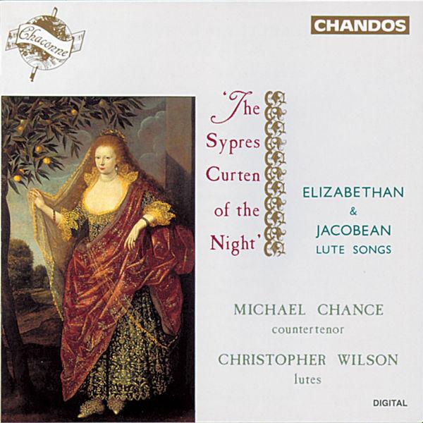 Michael Chance - Mélodies pour ténor & luth