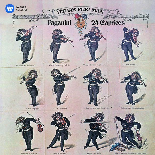 Itzhak Perlman Paganini: 24 Caprices (HD)