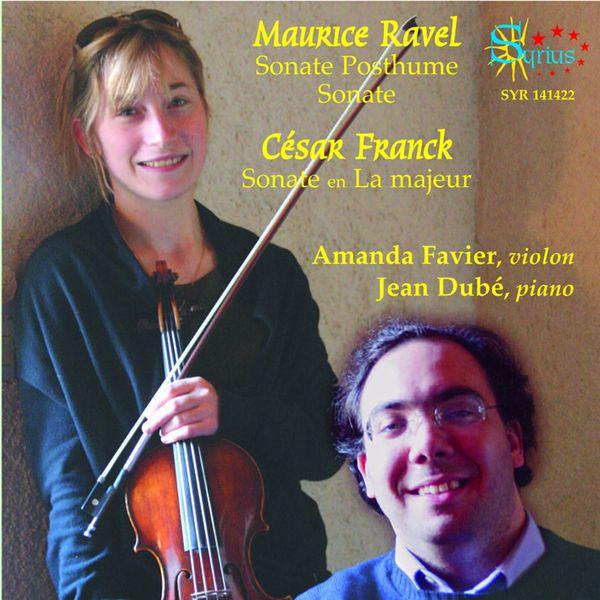 Amanda Favier - Sonates pour violon et piano