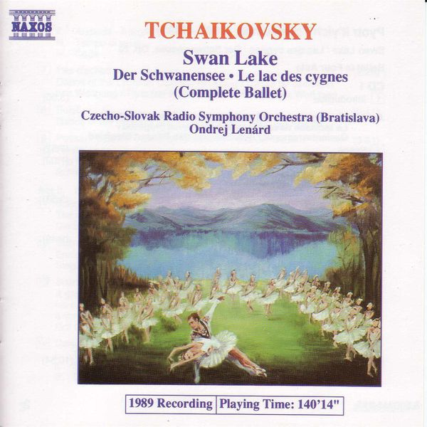 Slovak Radio Symphony Orchestra - TCHAIKOVSKY: Swan Lake (Complete Ballet) (Lenard)