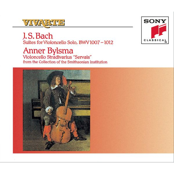 Anner Bylsma - Bach: The Six Unaccompanied Cello Suites, BWV 1007-1012