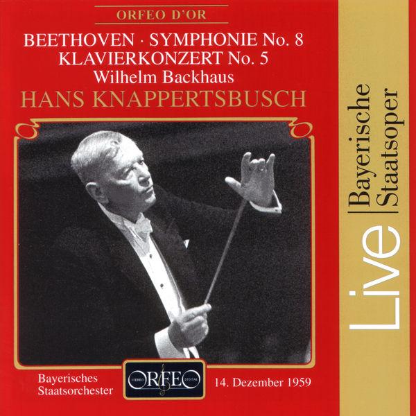 """Wilhelm Backhaus - Beethoven: Piano Concerto No. 5 """"Emperor"""" & Symphony No. 8"""