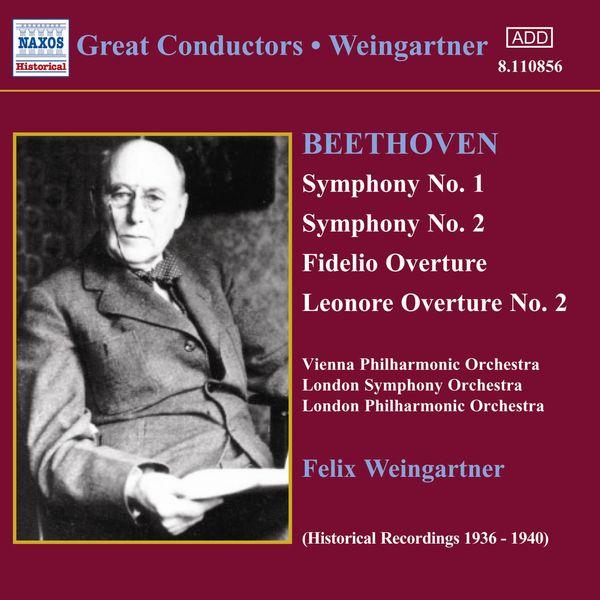 Félix Weingartner - BEETHOVEN: Symphonies Nos. 1 and 2 (Weingartner) (1935, 1938)