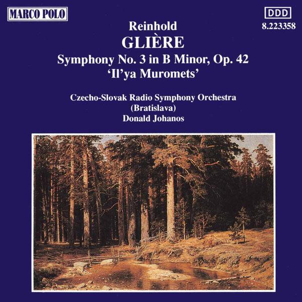 Slovak Radio Symphony Orchestra - Gliere : Symphony No. 3 In B Minor, Op. 42,