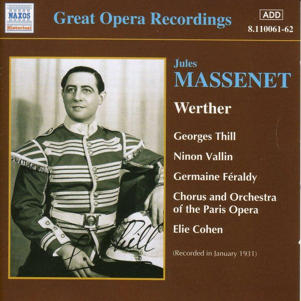 Georges Thill - Werther