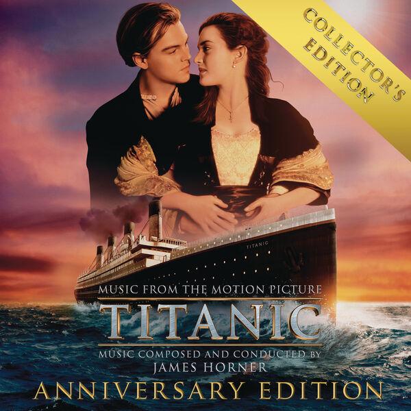 Titanic: original motion picture soundtrack by james horner.