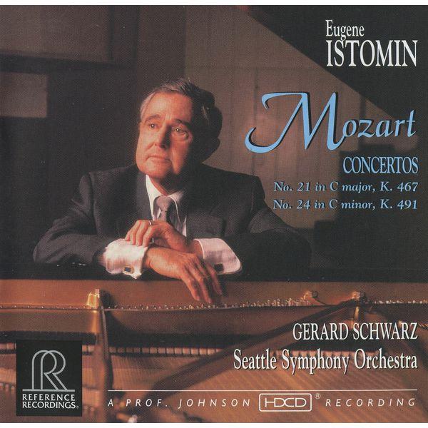 Eugene Istomin - Mozart: Piano Concertos Nos. 21 and 24