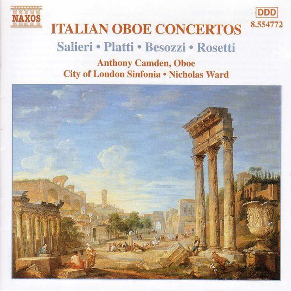 Anthony Camden - Italian Oboe Concertos, Vol. 2