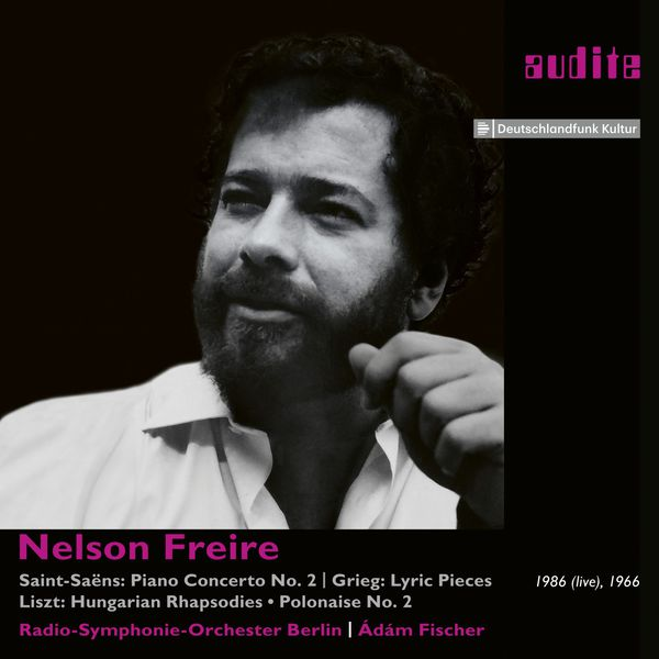 Nelson Freire - Saint-Saëns: Piano Concerto No 2 - Works by Grieg & Liszt