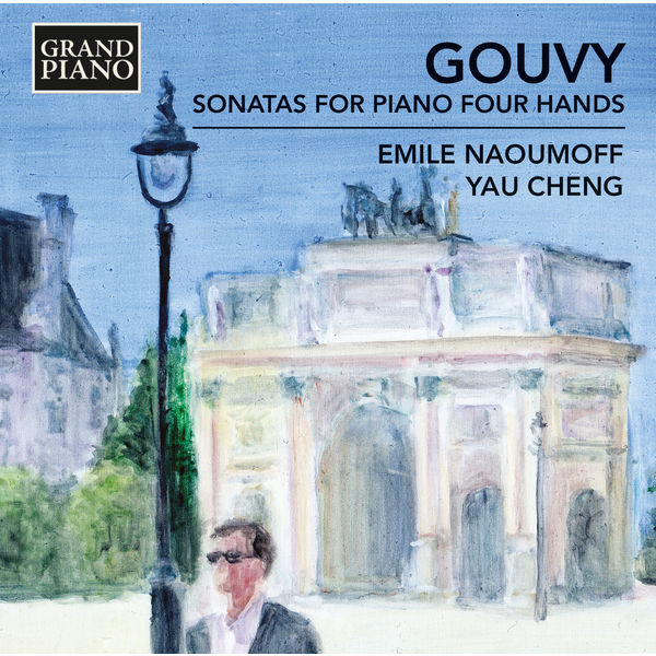 Emile Naoumoff - Theodore Gouvy : Sonatas for Piano 4 Hands
