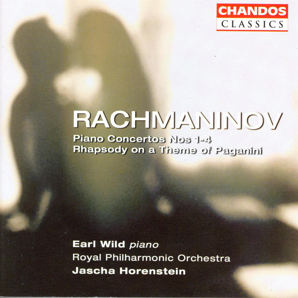 Earl Wild - Rachmaninoff : Piano Concertos Nos. 1-4, Variations on a Theme of Paganini