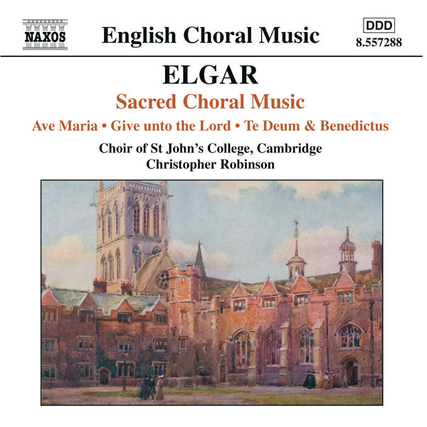Jonathan Vaughn - ELGAR: Ave Maria / Give unto the Lord / Te Deum and Benedictus, Op. 34