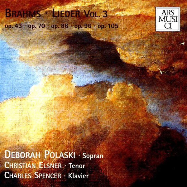 Deborah Polaski - Brahms: Lieder, Vol. 3