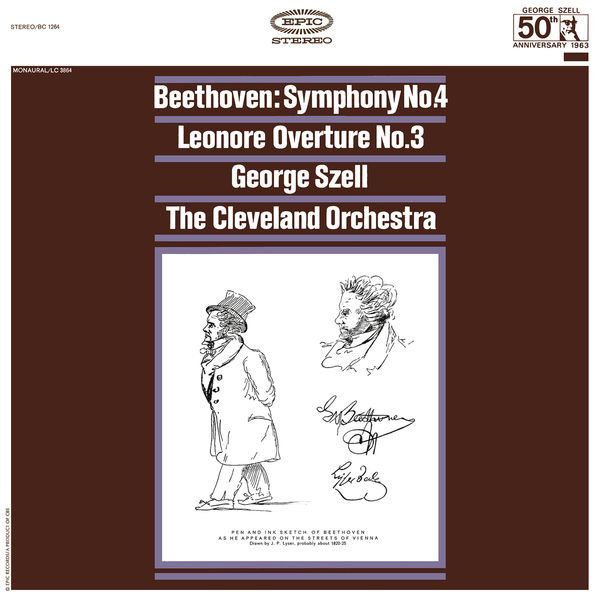 George Szell - Beethoven: Symphony No. 4, Op. 60 & Leonore Overture, Op. 72 ((Remastered))