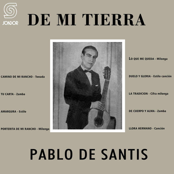 Pablo de Santis - De Mi Tierra
