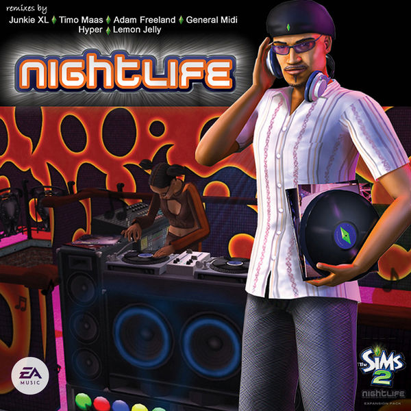 Mark Mothersbaugh - The Sims 2: Nightlife (Remixes) (Original Soundtrack)