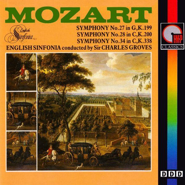 English Sinfonia - Mozart: Symphony Nos. 27, 28 & 34