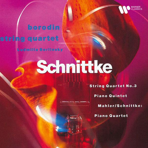 Borodin Quartet - Schnittke: String Quartet No. 3, Piano Quartet & Piano Quintet - Mahler: Piano Quartet