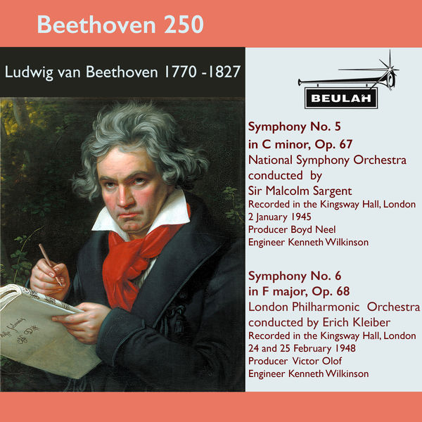 Sir Malcolm Sargent - Beethoven 250 Symphonies 5 and 6