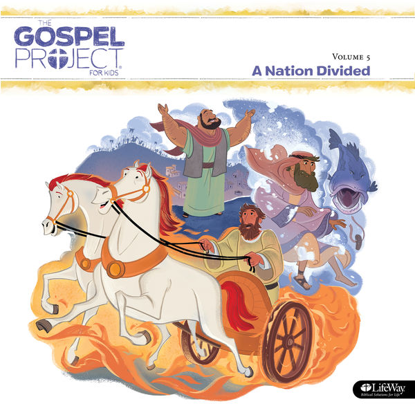 Lifeway Kids - The Gospel Project for Kids Vol. 5 A Nation Divided