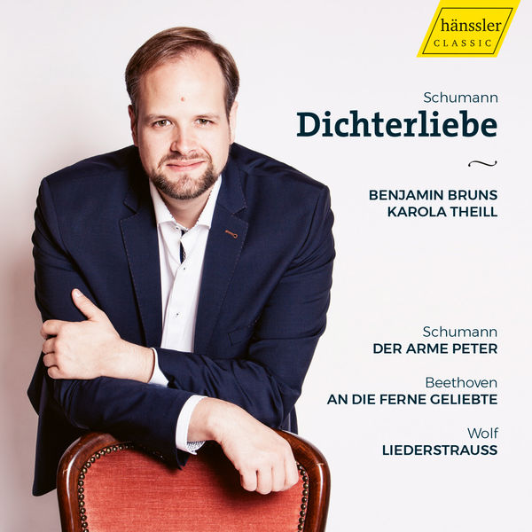 Benjamin Bruns - Schumann, Beethoven & Wolf: Vocal Works