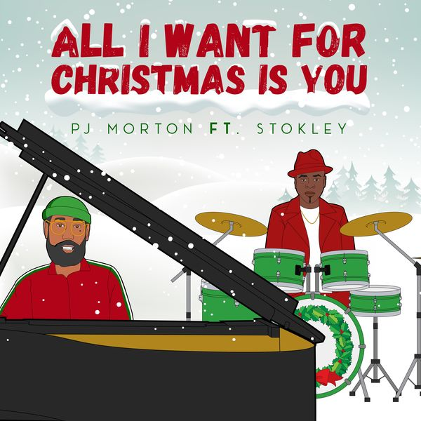 PJ Morton - All I Want For Christmas Is You (feat. Stokley)