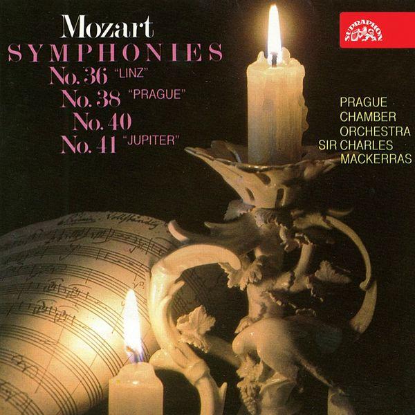 Charles Mackerras, Prague Chamber Orchestra - Mozart: Symphonies Nos. 36, 38, 40 & 41