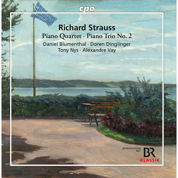 Daniel Blumenthal - Strauss : Piano Quartet & Piano Trio No. 2