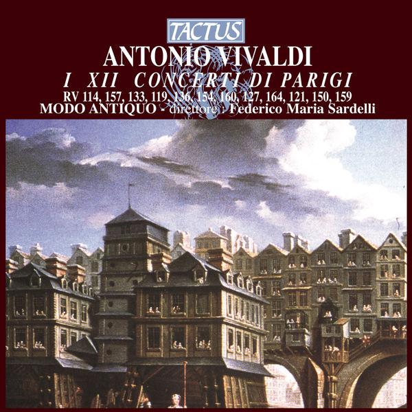 Various Artists - Antonio Vivaldi: I XII Concerti di Parigi