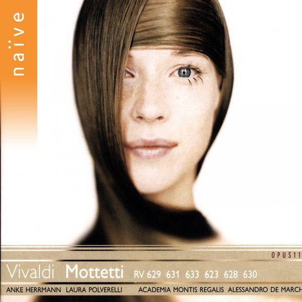 Academia Montis Regalis, Alessandro De Marchi, Laura Polverelli, Anke Herrmann - Vivaldi : Mottetti