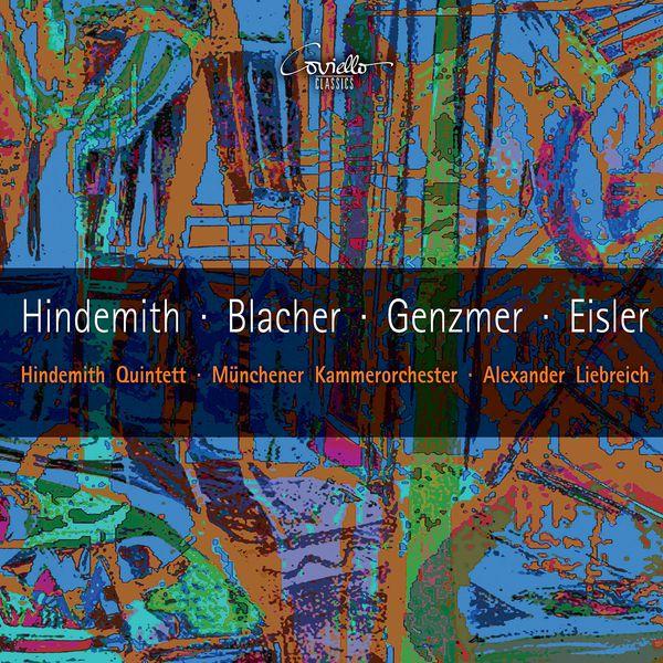 Hindemith Quintett - Works by Hindemith, Blacher, Genzmer, Eisler