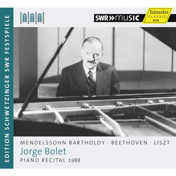 Jorge Bolet|Piano Recital 1988 (Piano Works by Mendelssohn, Beethoven & Liszt)