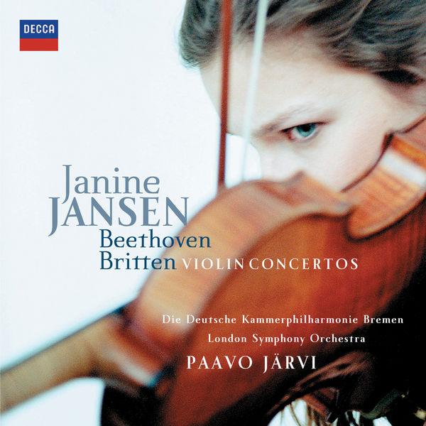 Janine Jansen - Beethoven & Britten: Violin Concertos