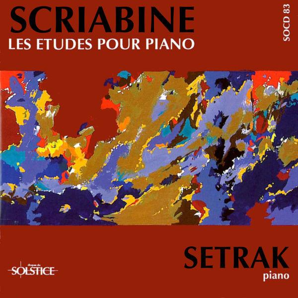Setrak|Intégrale des Etudes pour piano