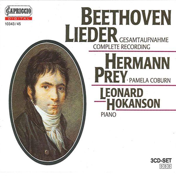 Hermann Prey - Beethoven: Lieder