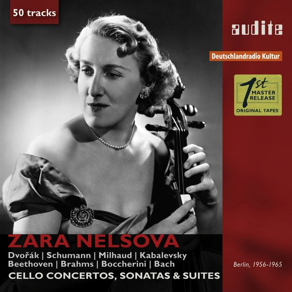 Zara Nelsova - Portrait Zara Nelsova (Cello Concertos, Sonatas & Suites)