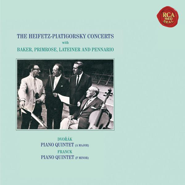 Jascha Heifetz - Dvorák: Piano Quintet No. 2 in A Major, Op. 81 - Franck: Piano Quintet in F Minor ((Heifetz Remastered))