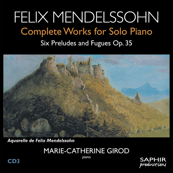 Marie-Catherine Girod - Six Preludes and Fugues Op.35
