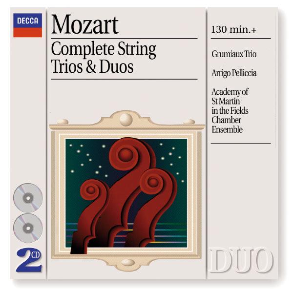 Grumiaux Trio - Mozart: Complete Strings Trios & Duos