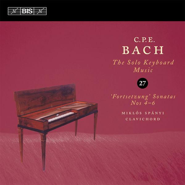 Miklos Spanyi - C.P.E. Bach: Solo Keyboard Music, Vol. 27