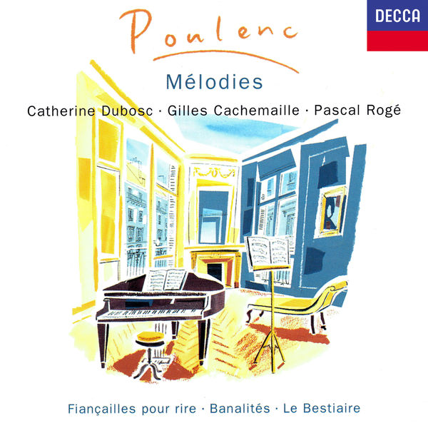 Catherine Dubosc - Poulenc: Mélodies Vol. 1