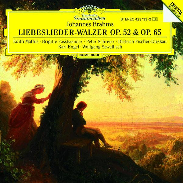 Edith Mathis - Brahms: Liebeslieder-Walzer