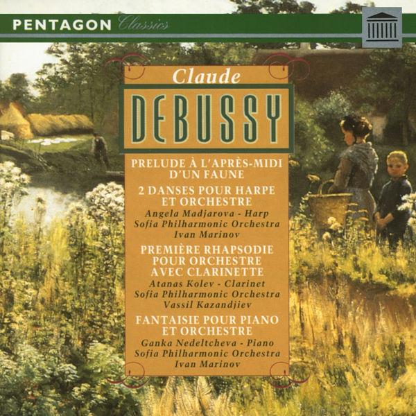 Claude Debussy - Debussy: Prelude a l'apres-midi d'une faune - Danse sacree & Danse profane - Premiere rhapsodie - Fantaisie pour piano et orchestre