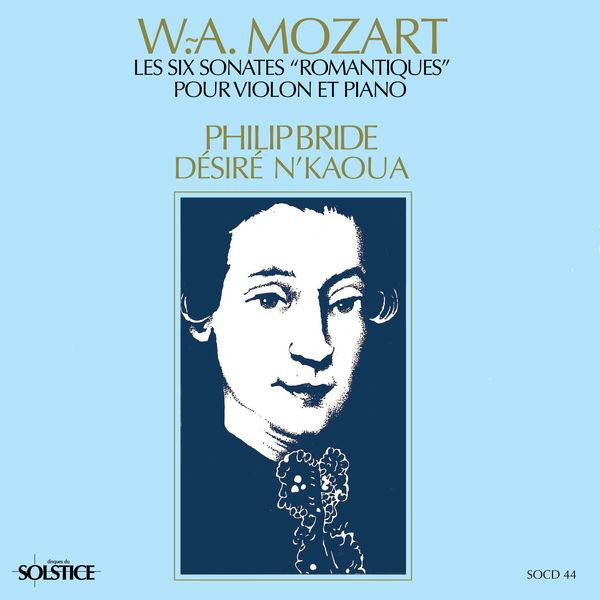"""Philip Bride - Les six sonates """"romantiques"""" pour violon et piano K. 55 à 60"""