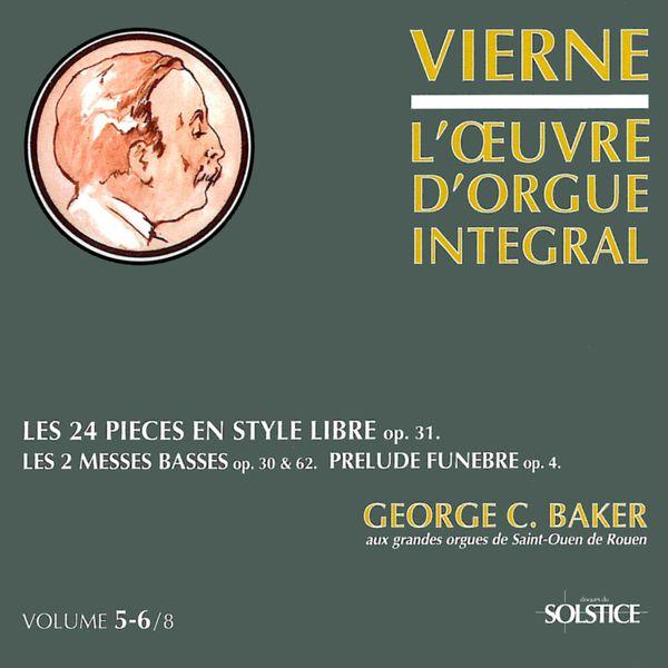 George Baker L'Œuvre d'orgue