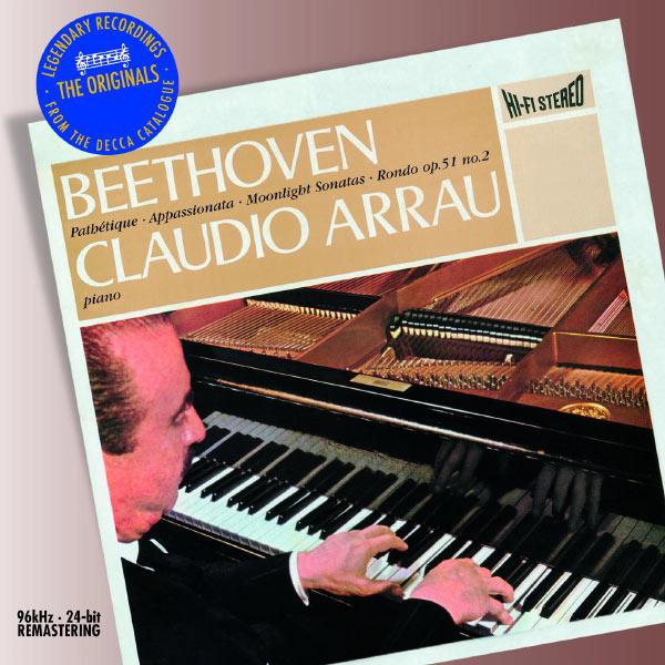 Claudio Arrau - Beethoven: Piano Sonatas Nos.8, 23, & 14