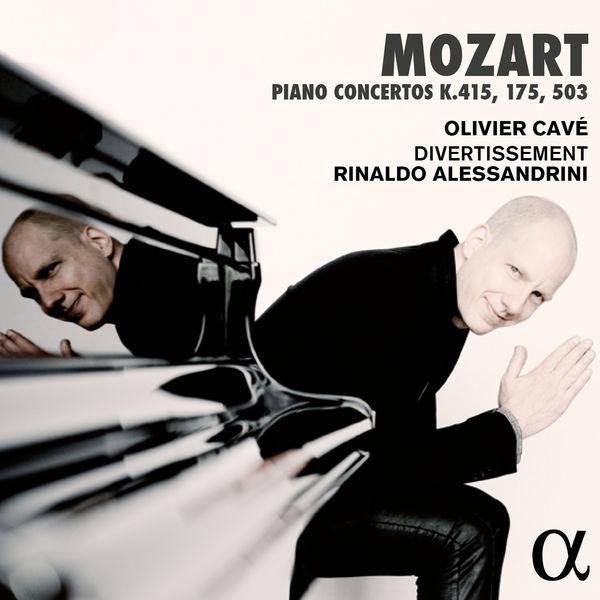 Olivier Cavé - Mozart : Piano Concertos K. 415, 175 & 503